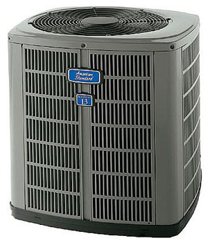 An American Standard HVAC unit