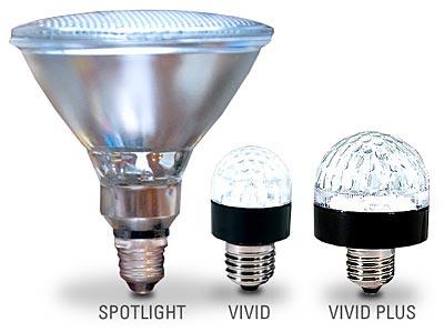 You've got plenty of options in your type of lighting